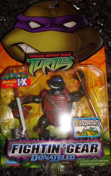Fightin' Gear Donatello (boxed)