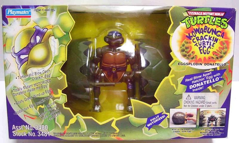 Kowabuga Crackin' Turtle Egg Donatello (boxed)