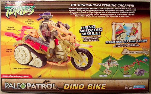 Paleo Patrol. Dino Bike with Paleo Don (boxed)