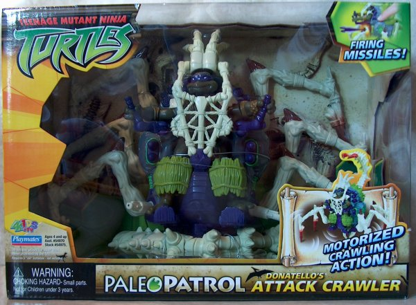 Paleo Patrol. Donatello's Attack Crawler (boxed)