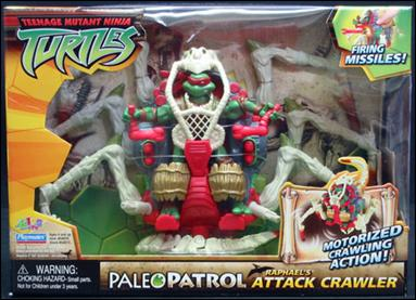 Paleo Patrol Raphael's Attack Crawler (boxed)