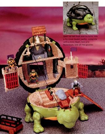 Raph Feudal Castle Playset (figure)