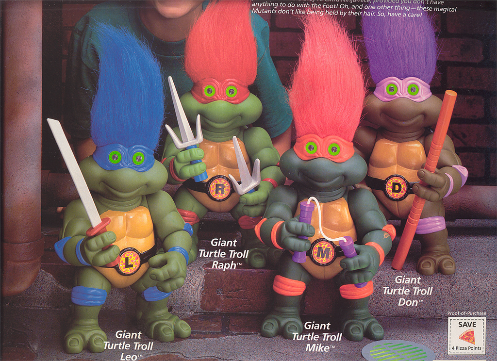Giant Turtle Troll Leo (boxed)