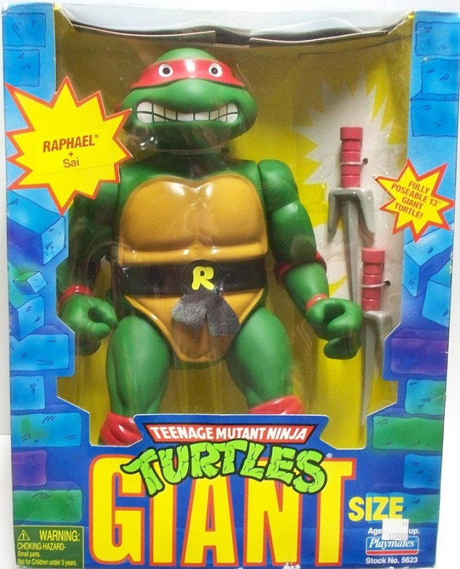 Giant Turtles Raphael (boxed)