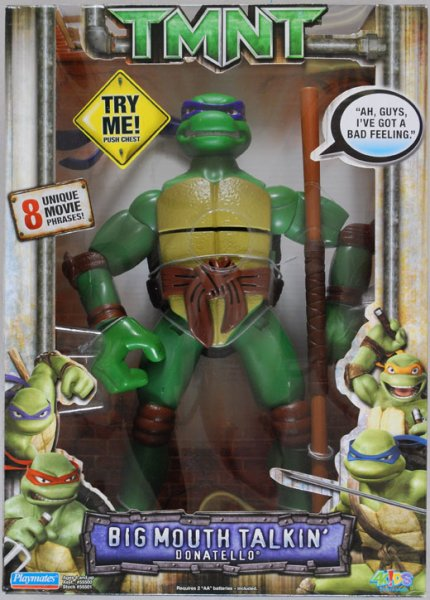 Big Mouth Talkin' Donatello (boxed)