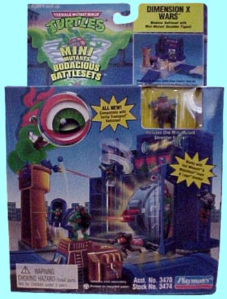 Dimension X Wars Playset (boxed)