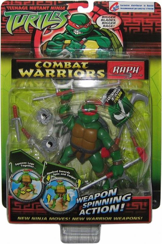 Combat Warriors Raph (boxed)