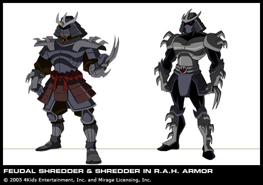 Shredder's concept (2)