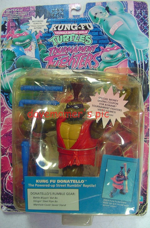 Kung Fu Donatello (boxed)