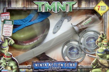 Ninja Action Gear Leonardo (boxed)