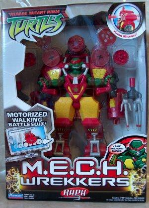 M.E.C.H. Wrekkers Raph (boxed)