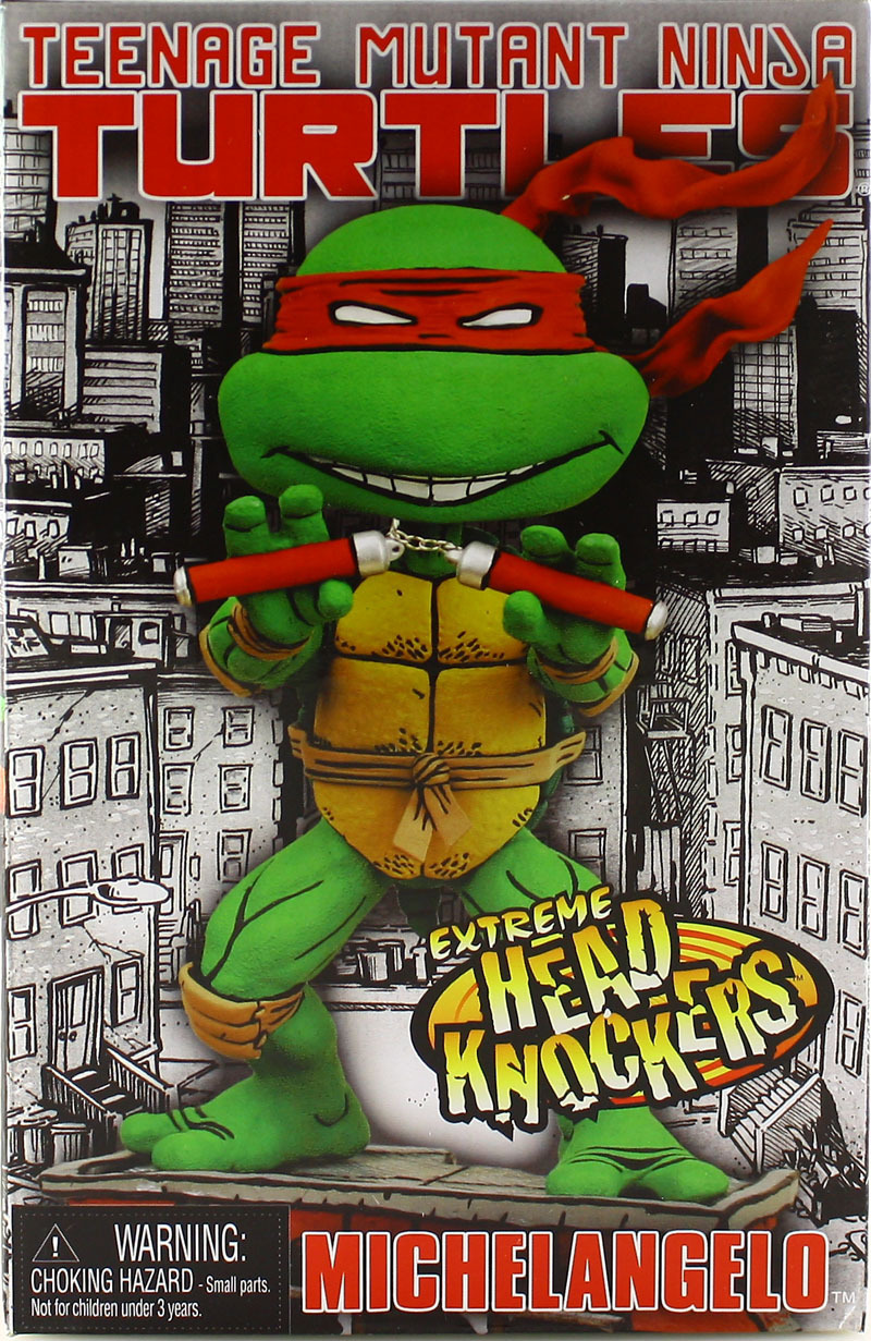 Headknockers. Michelangelo (boxed)