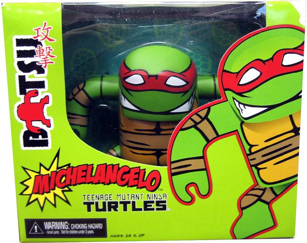 "Michelangelo (NECA ""Batsu"") in box"