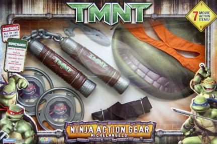 Ninja Action Gear Michelangelo (boxed)