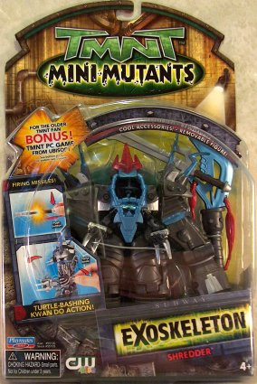 Mini Mutants. Exoskeleton Shredder