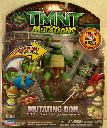 Mutating Don TMNT 2007 (boxed)