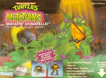 Mutatin' Donatello (boxed) 1