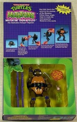Mutatin' Donatello (boxed) 2