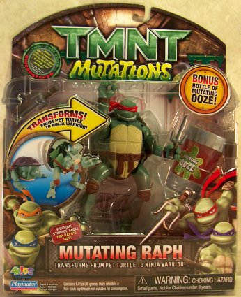 Mutating Raph from TMNT 2007 (boxed)