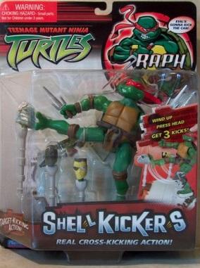 Shell Kickers. Raph (boxed)