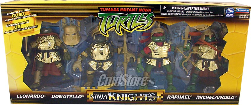 Ninja Knights. Golden Box Set. Leonardo, Donatello, Raphael, Michelangelo (boxed)