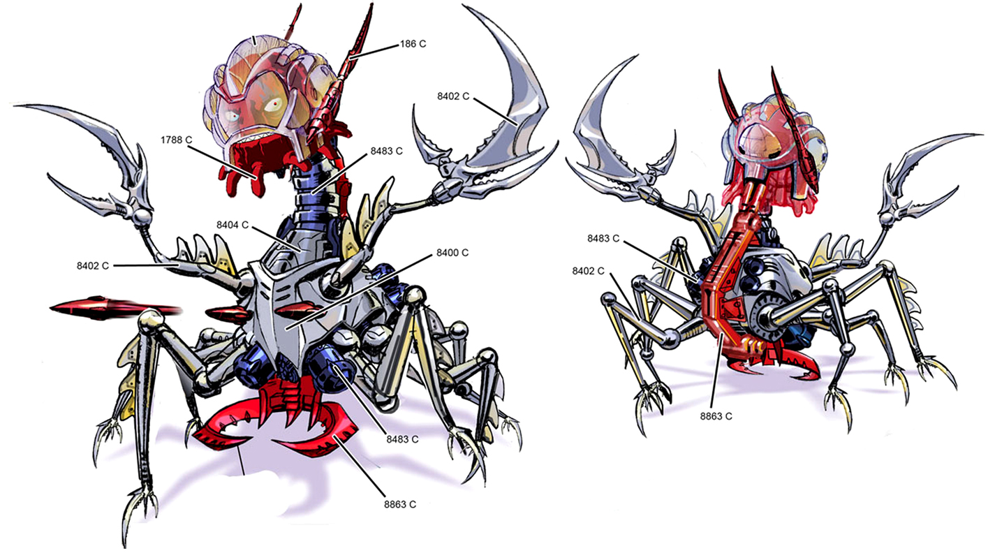 Primary Ch'rell's concept for BttS
