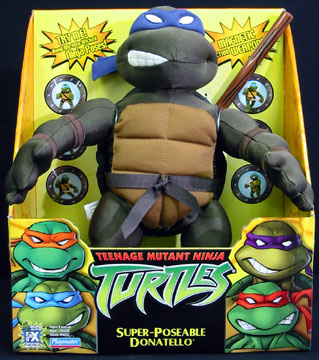 Super-Poseable Donatello (boxed)