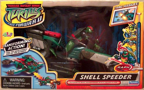 Shell Speeder Raph (boxed)