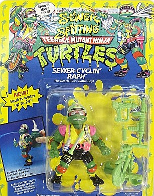 Sewer Cyclin' Raph (boxed)