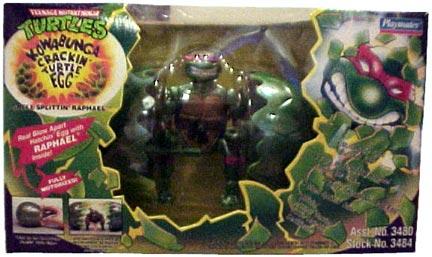Kowabunga Crackin' Turtle Egg Raph (boxed)