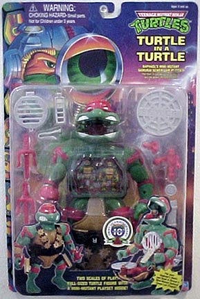 Raph's Samurai Sewer Lair Plyset (boxed)