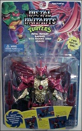 Metal Mutant Raphael (boxed)