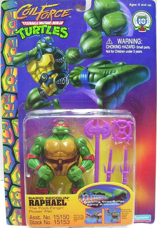 Rapid Recoilin' Raphael (boxed)