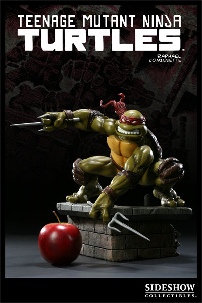 Raphael from Sideshow Collectibles (in celebration of the 25th anniversary of the Teenage Mutant Ninja Turtles) statue