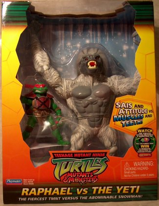 Raphael vs. Yeti (boxed)