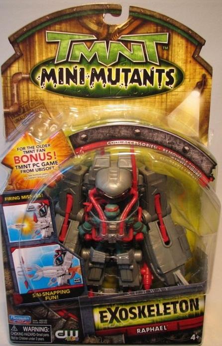 Mini-Mutants Exoskeleton Raphael (boxed)