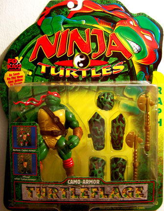 Camo-Armor Turtleflage Raphael (boxed)