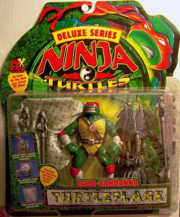 Camo-Bandanna Turtleflage Raphael (boxed)