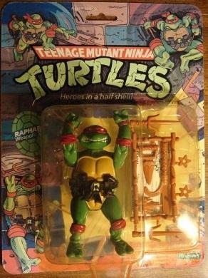 Raphael 1989 action figure (boxed)