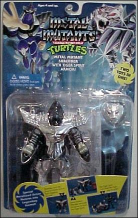 Metal Mutant Shredder with Tiger Spirit Armor (boxed)