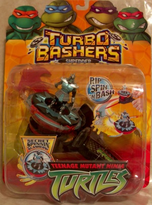Turbo Bashers. Shredder (boxed)