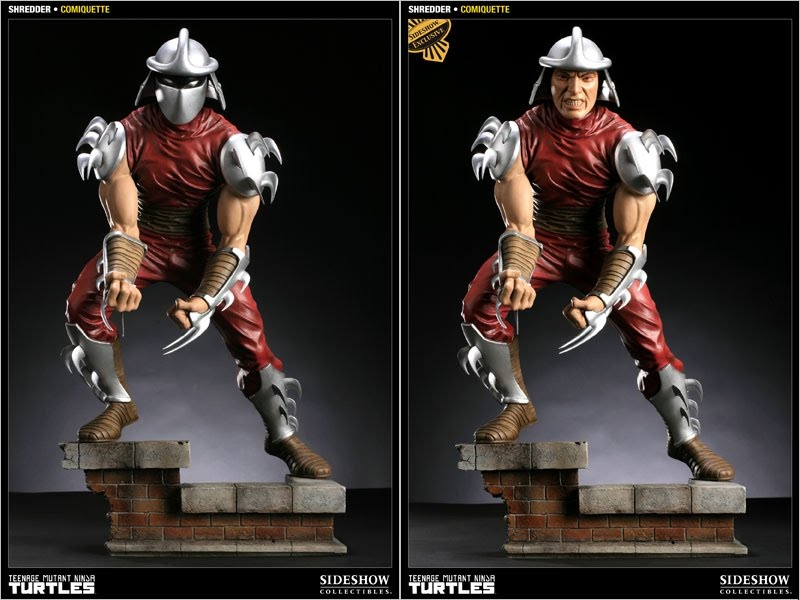 Shredder from Sideshow Collectibles (in celebration of the 25th anniversary of the Teenage Mutant Ninja Turtles)