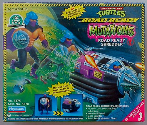 Mutations. Road Ready Shredder (boxed)