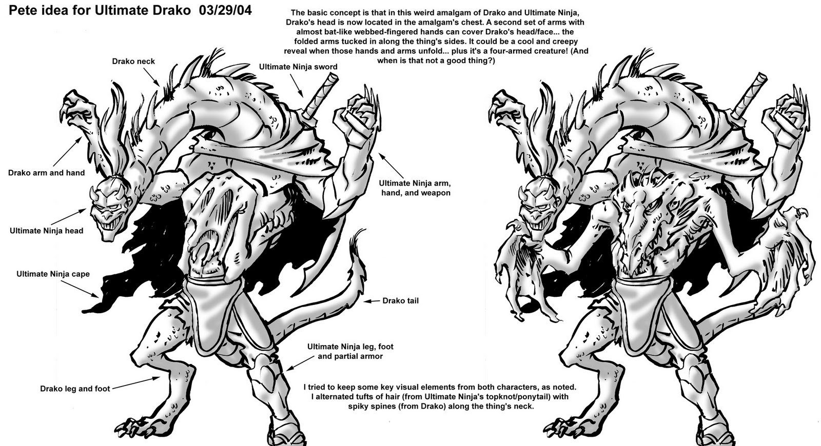 Ultimate Drako (Peter Laird's concept)