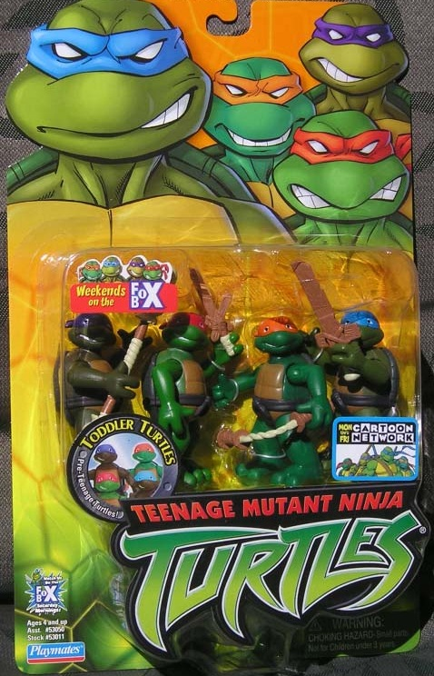 Toddler Turtles (boxed)