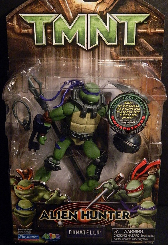 Alien Hunter Donatello (boxed)