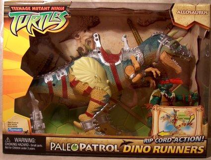 Paleo Patrol Dino Runners Allosaurus with Paleo Patrol Mike (boxed)