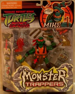 Monster Trappers. Mike (boxed)
