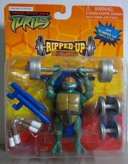 Mini Ripped Up Michelangelo (boxed)