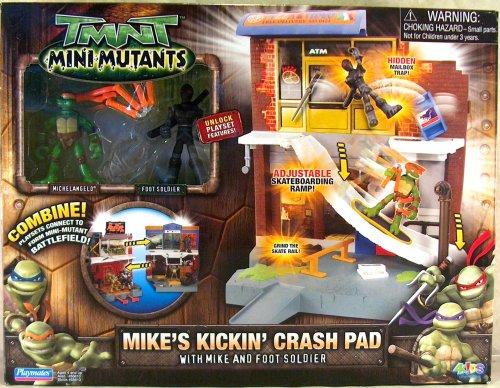 Mini-Mutants Mike's Kickin' Crash Pad with Mike & Foot (boxed)